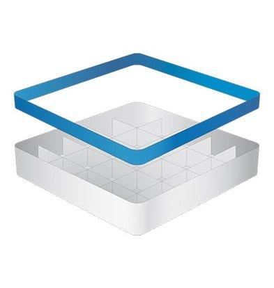 CaterRacks Becher Korb - 25 Boxen - (h) 12 cm - Durchmesser von 9 cm
