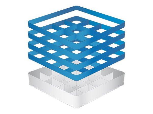 CaterRacks Beakers basket - 16 boxes - (h) 24 cm - 11.2 cm diameter