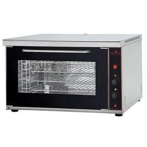 Caterchef Convection oven with humidifier - 4 x 60x40 Deluxe - 88x64x55 (h) - 400V