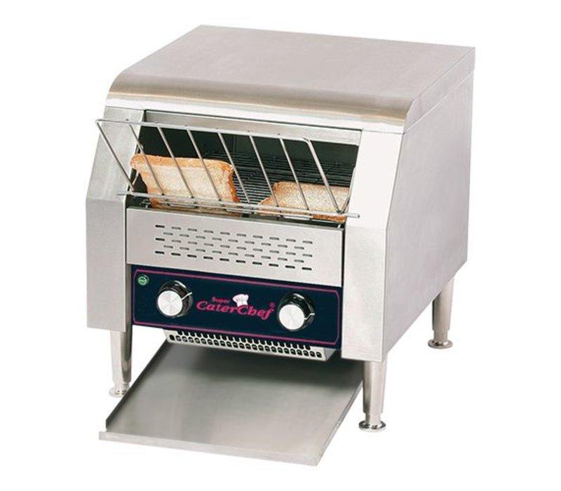 Caterchef Gehen Sie durch Toaster | XXL Hotel - einstellbare Geschwindigkeit - 47x42x (H) 39cm - 2640W