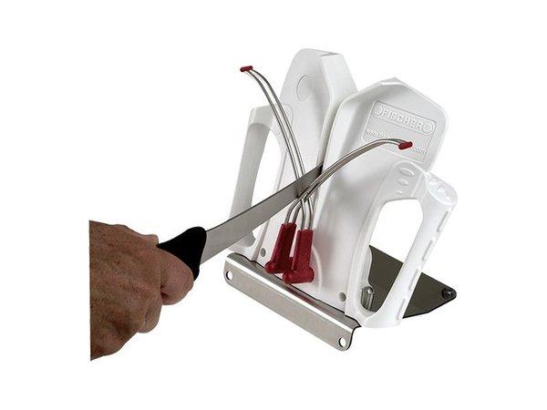 Emga Manual Knife Sharpener Stainless Steel - for all Knives