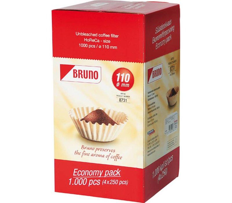Hendi Koffiefilters voor Hendi / 1000 stuks
