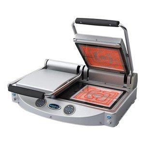 Unox Keramische Contactgrill - Digitaal - grill oppervlak 2 x 25x25cm