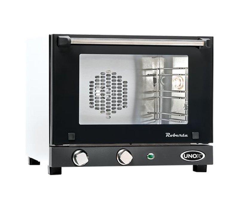 Unox Heteluchtoven - 480x510x(h)400mm - ROBERTA-UNOX 5 - 3 x 342x242mm