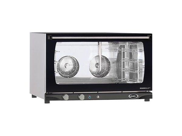 Unox Convection Oven - 800x770x (H) 510mm - 6500W - 400V - XFT193 ROSELLA Manual - 4 x 600x400mm