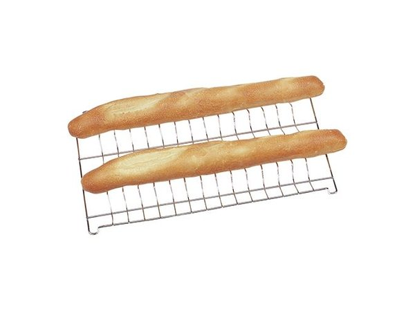 Unox Baguette Rooster | Chrome | 600x400mm