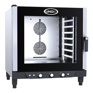 Unox Convection Oven - 860x900x (H) 960mm - 400V - XV593 Cheflux Manual - 7 x 1/1 GN