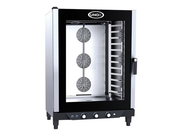Unox Convectieoven - 860x900x(h)1280mm - 400V - XV893 Cheflux Manual - 12 x 1/1 GN