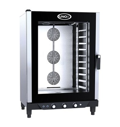 Unox Oven with steam function - 860x900x (h) 1280mm - 400V - XB893 BakerLux Manual - 10 x 600x400mm