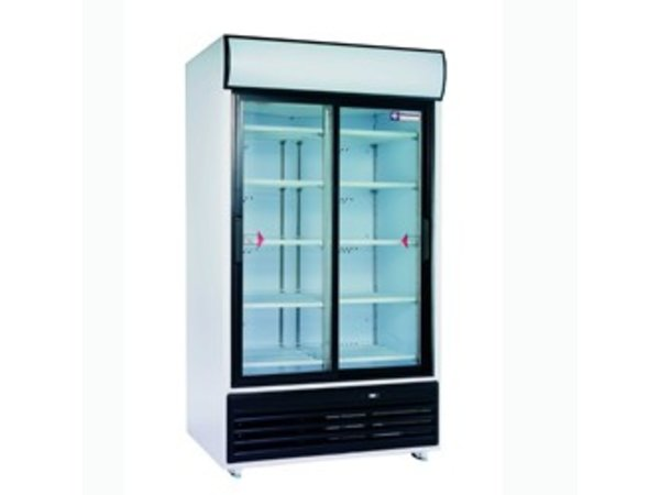 Diamond Kühlschrank - 875 Liter - Glastüren - 2x5 Raster - 118x82x (h) 202cm