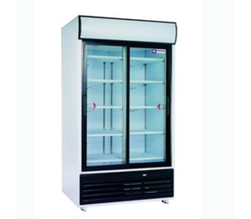 Diamond Koelkast - 875 Liter - Glazen deuren - 2x5 Rooster - 118x82x(h)202cm