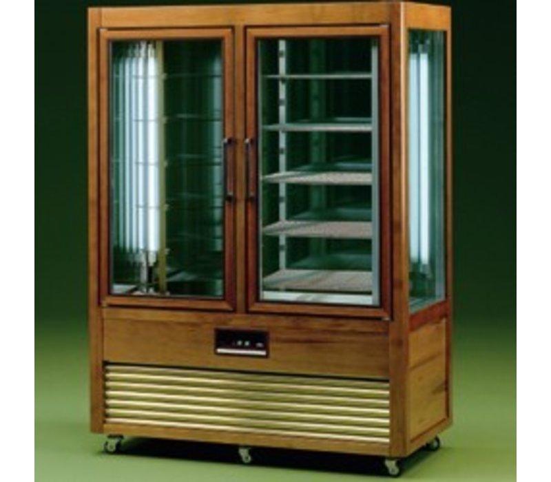 Diamond Refrigerated display case - 1000 Liter - 2 x 5 grids - 134x70x (h) 183cm
