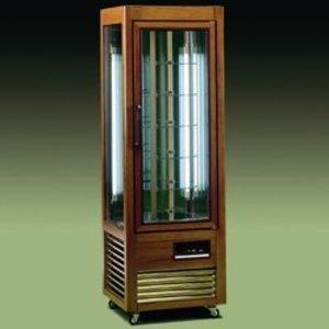 Diamond Kühlvitrine - 350 Liter - 6 rotierenden Ablagen - 60x61x (h) 185cm