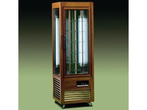 Diamond Refrigerated display case - 350 Liter - 6 rotating shelves - 60x61x (h) 185cm