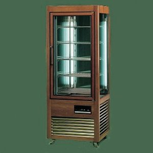 Diamond Refrigerated display case - Masief wooden frame - 500 Liter - five grids - 70x73x (h) 183cm
