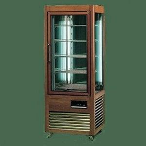 Diamond Refrigerated display case - Masief wooden frame - 500 Liter - five grids - 70x73x (h) 183cm