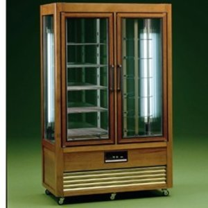 Diamond Refrigerated display - 700 liters - 2 x 5 grids - 114x61x (h) 185cm