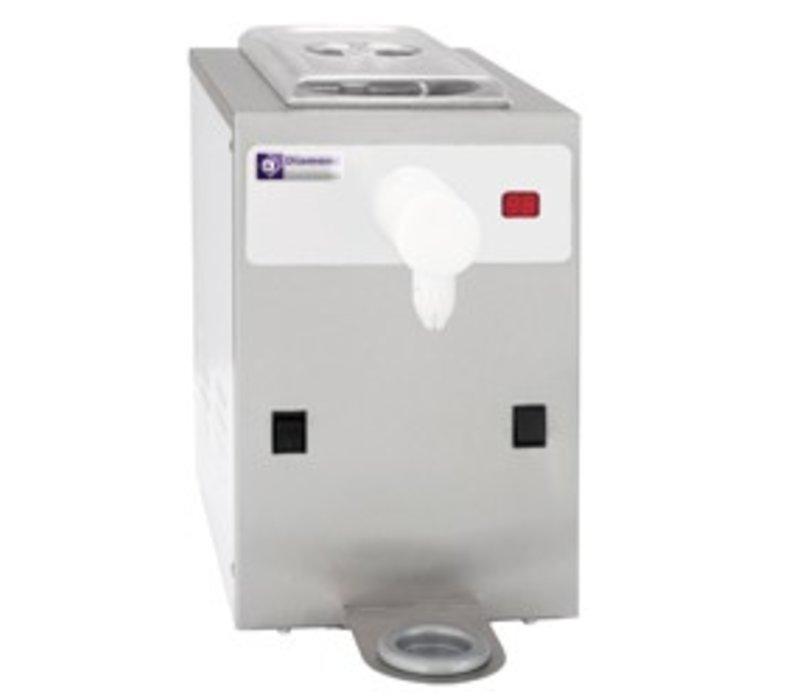 Diamond Slagroommachine - 150liter/uur - inhoud 5 liter - RVS