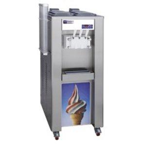 Diamond Softijsmachine - 45kg/uur - 2 smaken - 1 mengsel - watercondensator