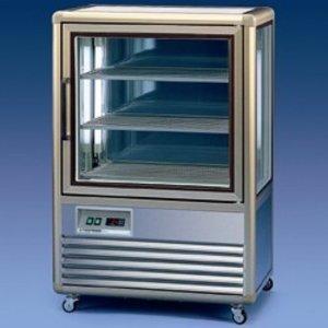 Diamond Freeze-Showcase | Beleuchtung | 250 Liter | -5 / -18 Grad | 3 Stufen gekühlt | 810x600x (H) 1225mm