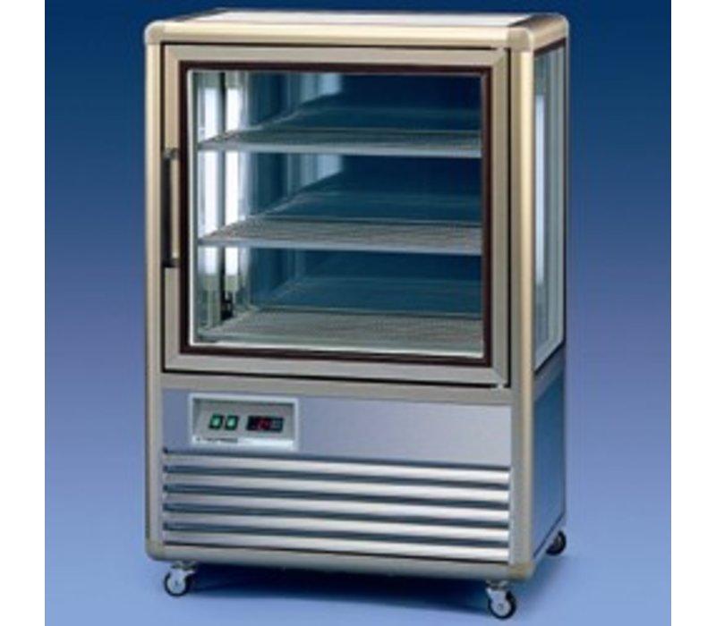 Diamond Freeze Showcase | Lighting | 250 Liter | -5 / -18 Degrees | 3 Levels Chilled | 810x600x (H) 1225mm
