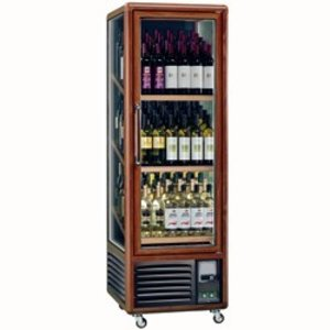 Diamond Wijnklimaatkast - Binnenverlichting - 340 Liter - 3 niveaus - 594x615x(H)1810mm