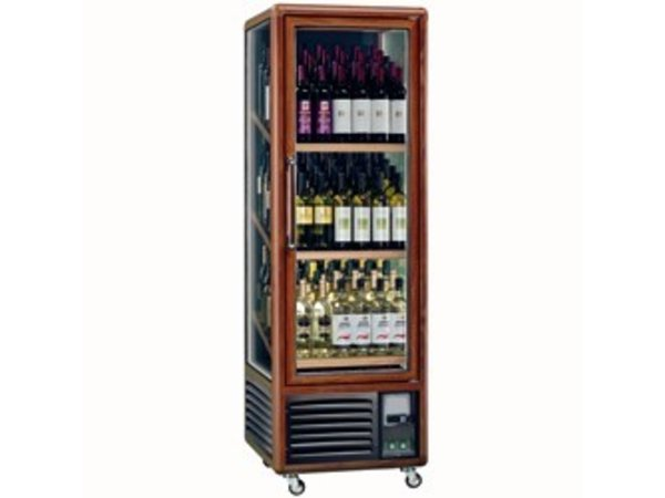 Diamond Weinklimaschrank - Interior - 340 Liter - drei Ebenen - 594x615x (H) 1810mm