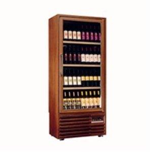 Diamond Wijnklimaatkast - Frame in massief hout - Binnenverlichting - 400 Liter - 5 niveaus - 827x523x(H)1930mm