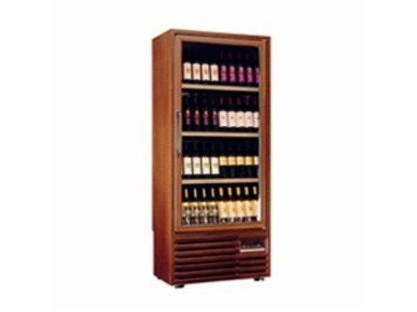 Diamond Weinklimaschrank - Rahmen aus Massivholz - Interieur - 400 Liter - 5 Stufen - 827x523x (H) 1930mm