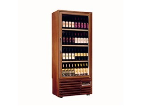 Diamond Wine Climate Cabinet - Frame in solid wood - Interior - 400 Liter - 5 levels - 827x523x (H) 1930mm