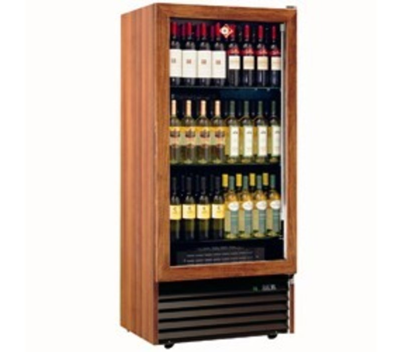Diamond Wine Climate Cabinet - 84 bottles / 370 Liter - three levels - two temperatures - 723x550x (H) 1598mm