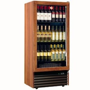Diamond Wine Fridge - 370 Liter - three levels - Frame in solid wood - 723x550x (H) 1598 mm
