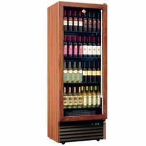 Diamond Wine Fridge - Frame in solid wood - 112 bottles / 500 Liter - 4 levels