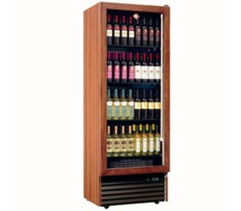 Diamond Wein Kühlschrank - Gestell aus Massivholz - 112 Flaschen / 500 Liter - 4 Ebenen