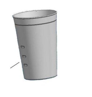 Bartscher Extra schenkbeker voor de Barmixer / Milkshaker - Basic - 0,7 liter |