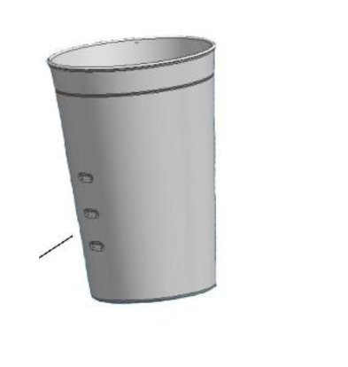 Bartscher Zusätzliche Gießt für den Barmixer / Milk Shaker - Basic - 0,7 Liter |