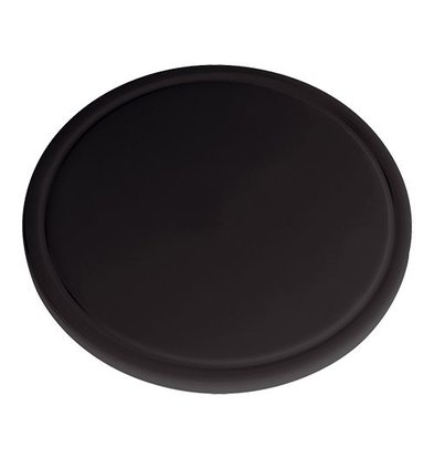Emga Cutting Board - HDPE 500 - Ø 300x20mm - black