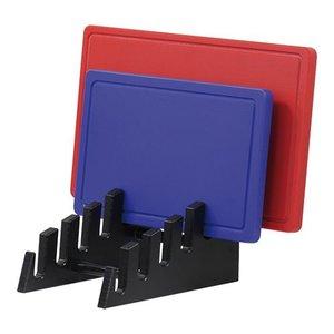 Emga Standard 6 cutting boards - HDPE 500 - Black