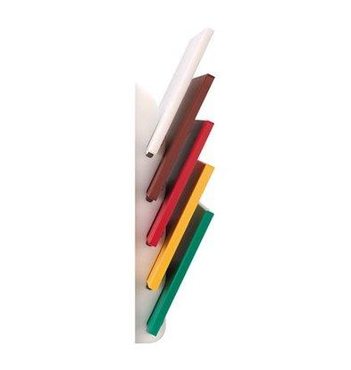 Emga Standard 6 cutting boards - HDPE 500 - white - wall-mountable