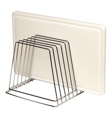 Emga Rack for 6 chopping boards - chrome