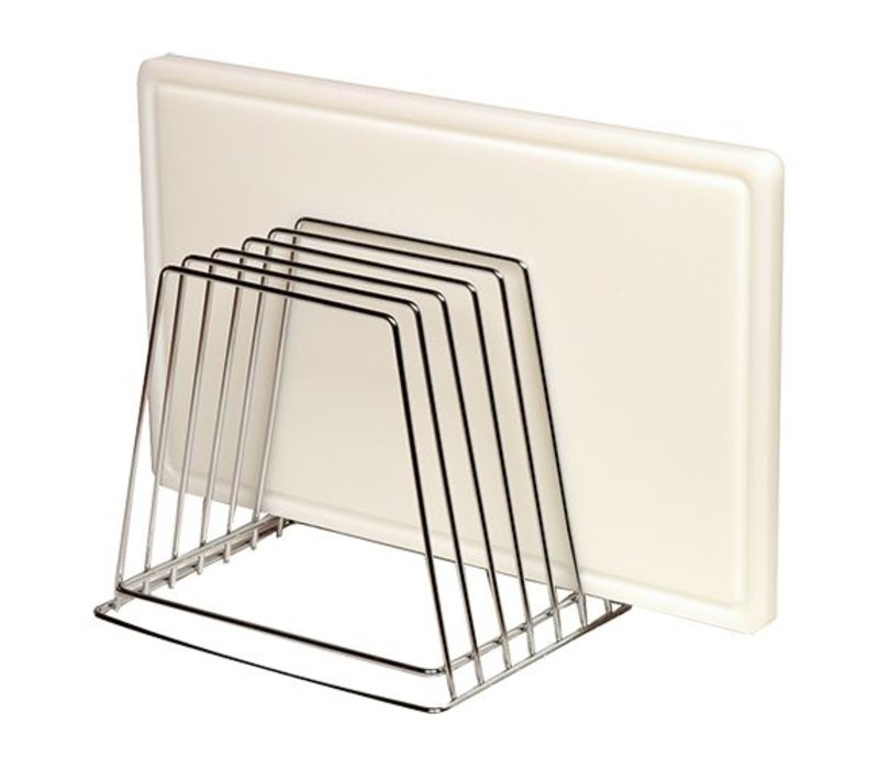 Emga Rack for 6 chopping boards - chrome