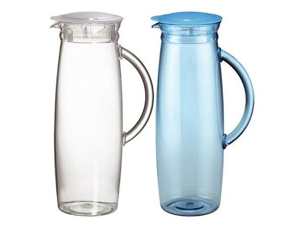 Emga Jug | 1.3 Liter | Polycarbonate | With transparent lid | Height 26cm