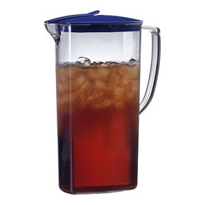 Emga Jug | 2 Liter | Polycarbonate | Automatic Closing Lid | Height 27cm