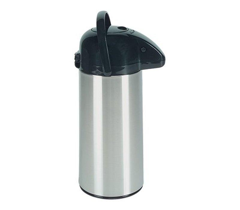 XXLselect Mit Pumpe - Edelstahl - Drehbasis - 2,2 Liter