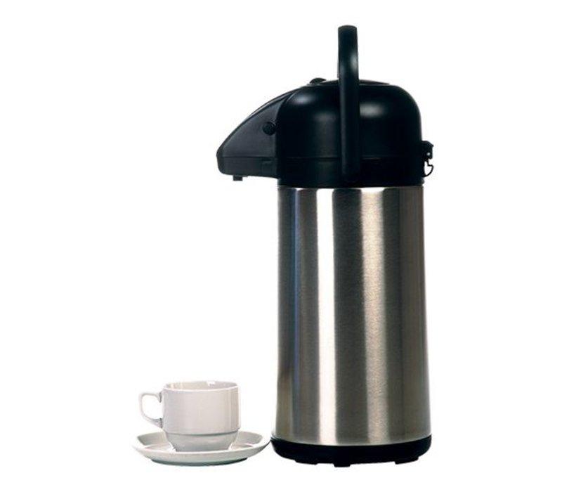 XXLselect XXL mit Pumpe - Edelstahl - Doppel - 2,2 Liter