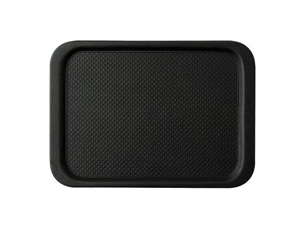 XXLselect Tray Black HEAVY DUTY | Anti-Slip and Dishwasher safe | Very Strong | 630x390mm