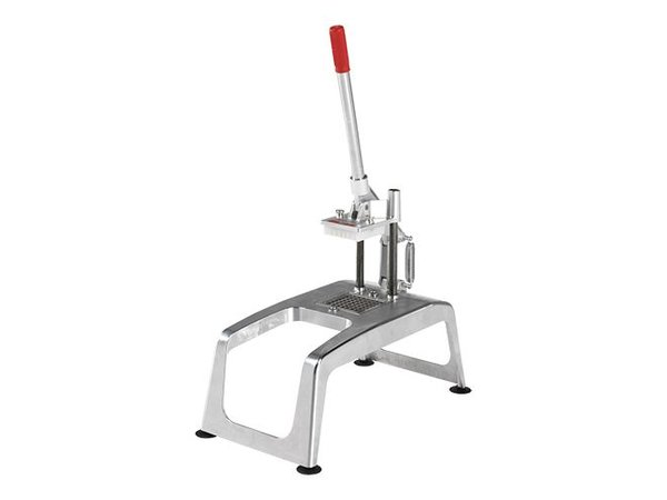 XXLselect Tabletop with fries Cutter Suction - RVS - Mesrooster 8x8mm