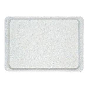 XXLselect Horeca Dienblad | Glasvezel Versterkt  Polyester | Alu Design | Trapezium | 480x340mm
