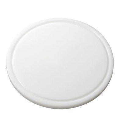 Emga Snijplank- HDPE 500 - Ø 300x20mm - white