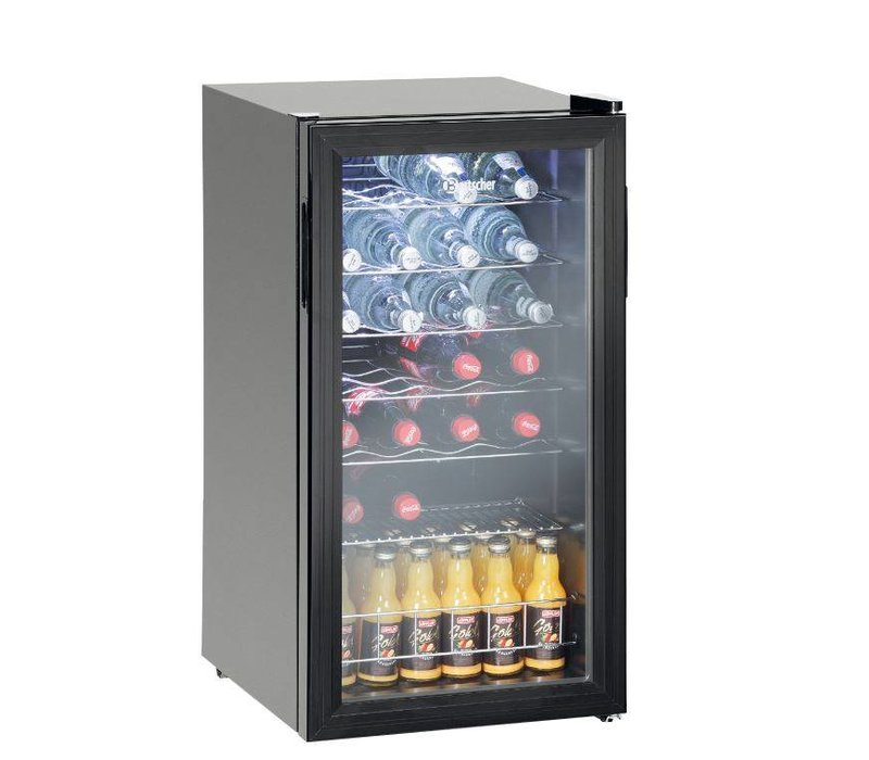 bartscher flaschen k hlschrank wein k hlschrank 28 flaschen 88 liter led beleuchtung. Black Bedroom Furniture Sets. Home Design Ideas
